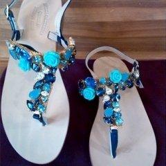 scarpe infradito lavorazione artigianale
