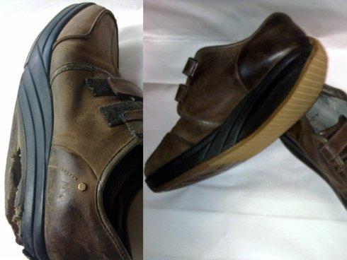 Riparazione scarpe pelle