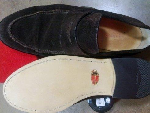 Rifacimento suole scarpe uomo