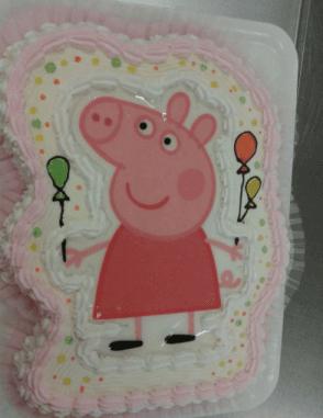 torta peppa pig un anno