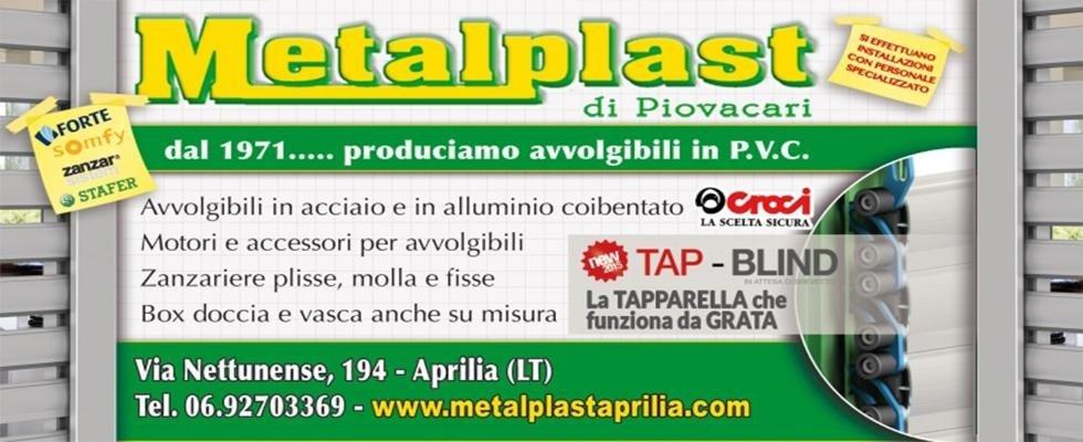 Metalplast di Piovacari a Aprilia