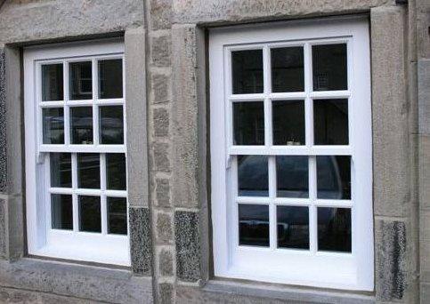 white coloured window
