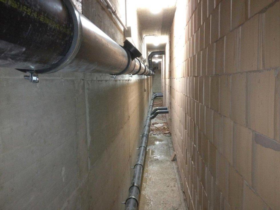 impianto distribuzione acqua