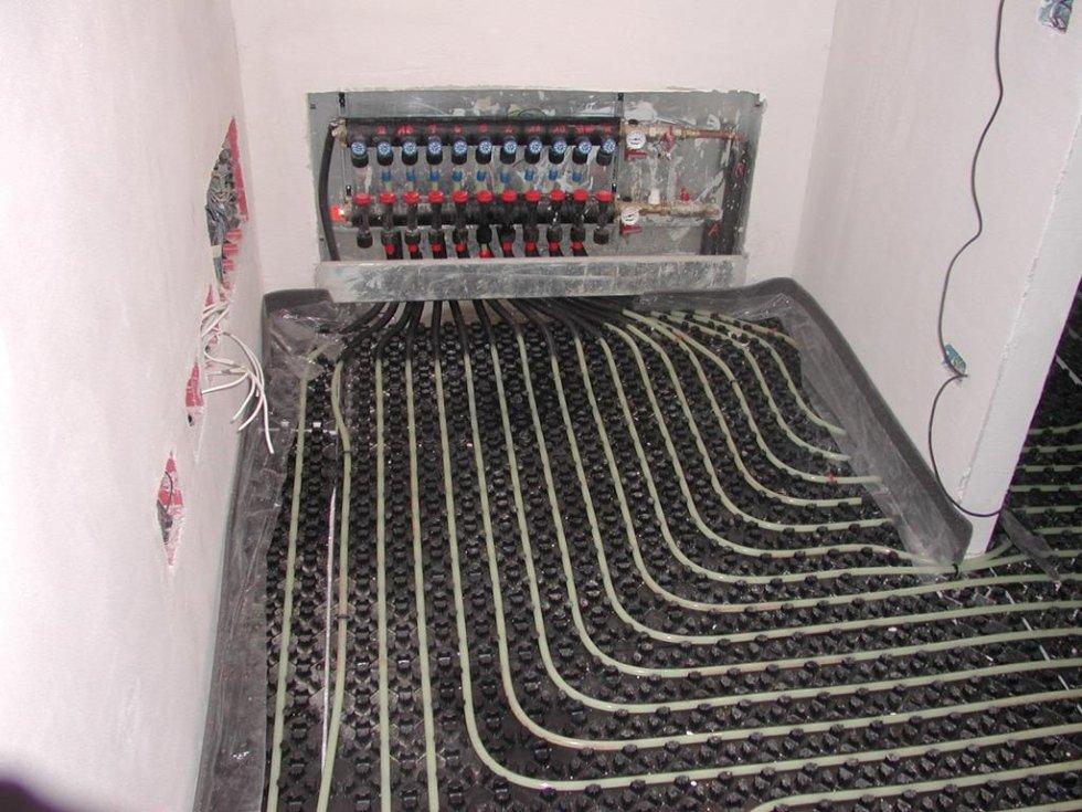 sistema termico a pavimento