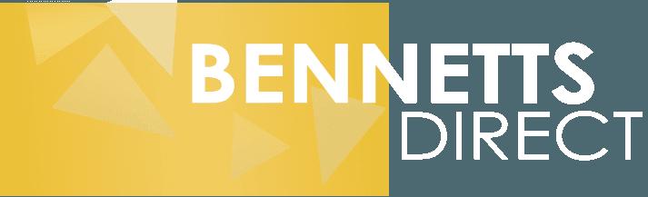 Bennetts Direct white Logo
