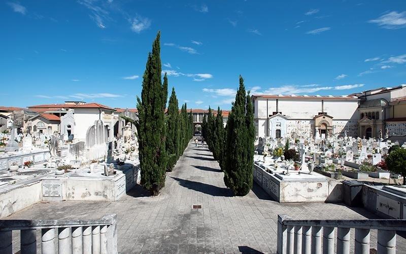 Parte storica Camposanto