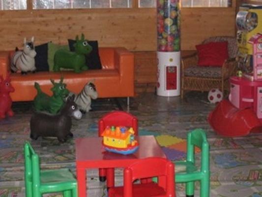 Area gioco dedicata al divertimento dei bambini