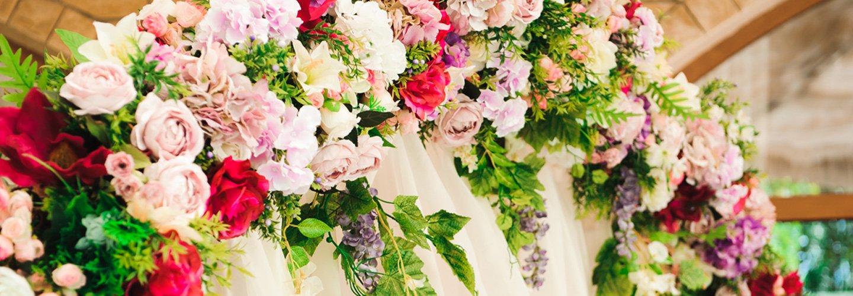 Addobbi floreali a Mercato San Severino
