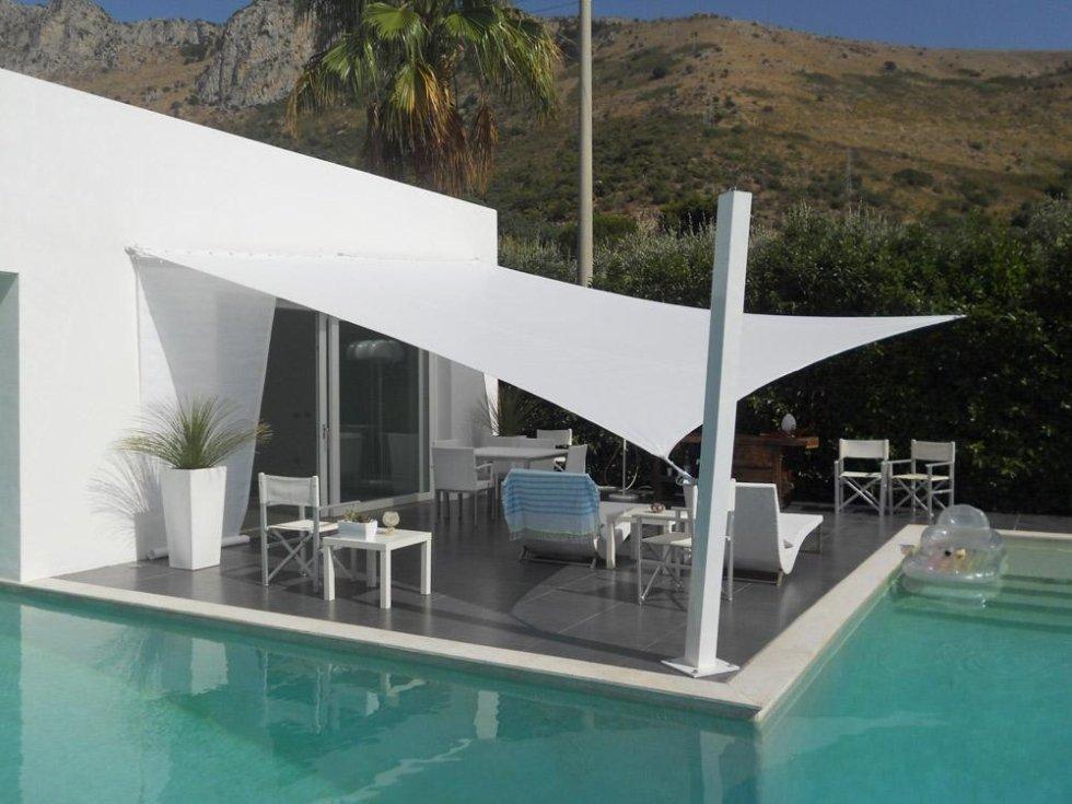 Vela ombreggiante per piscine