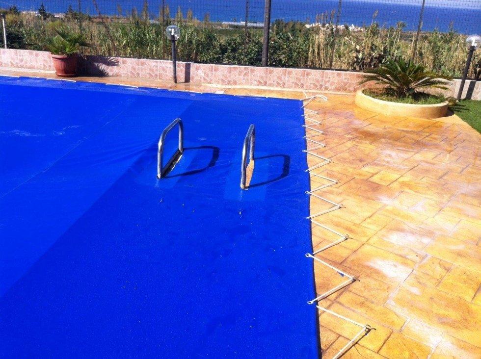Coperture piscina con telo