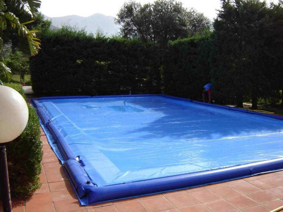 Telone su misura per piscine