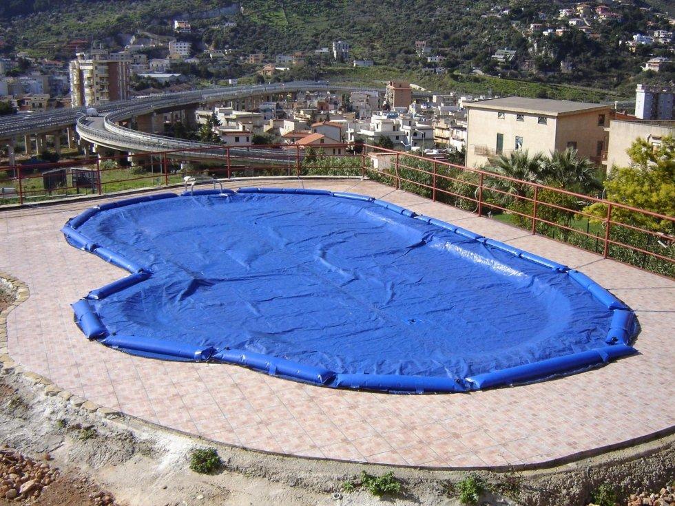 Coperture invernali per piscine interrate