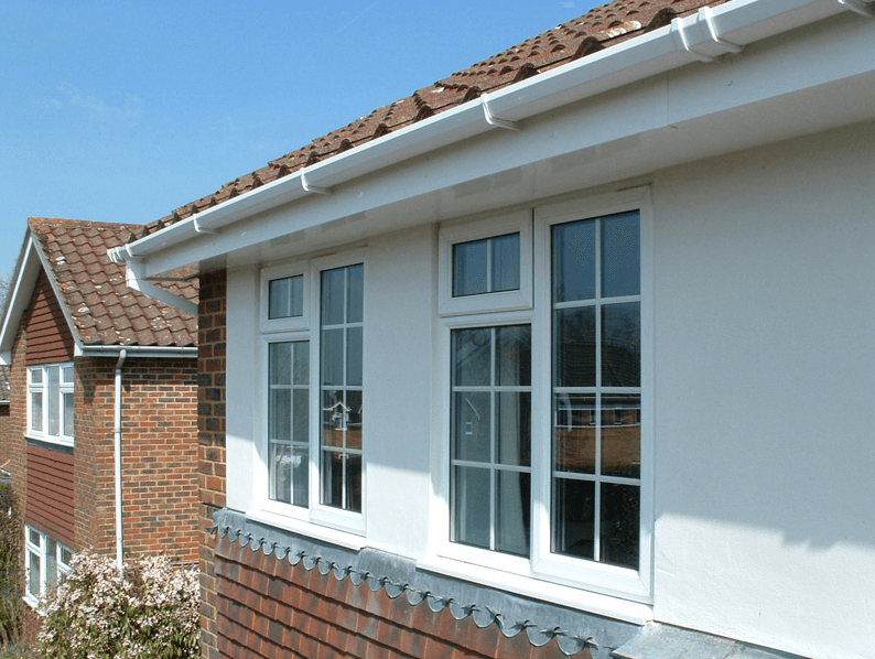 windows and rooflines