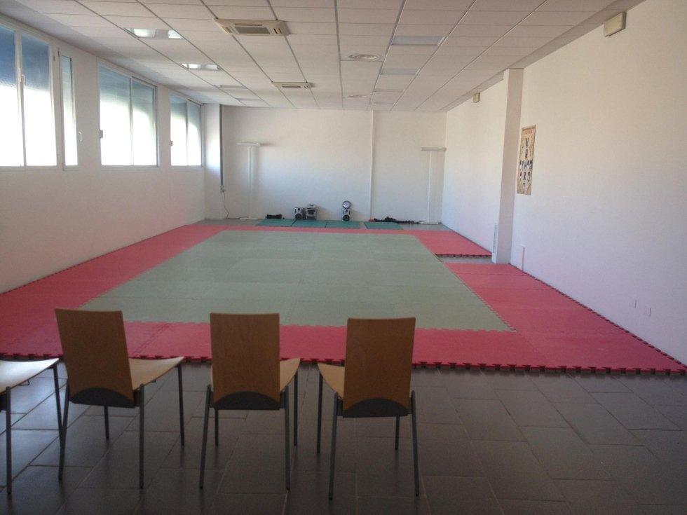 ampia sala di una palestra