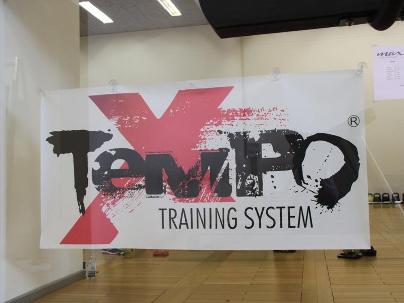 Tempo training System, cartellone