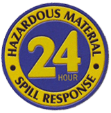 24 Hour Spill Response Sign