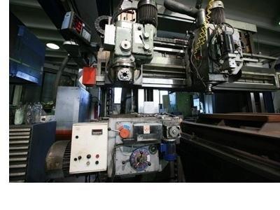 Officina meccanica Zambon interno