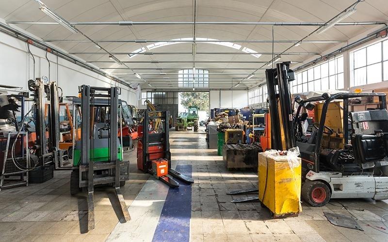 Manutenzione carrelli elevatori