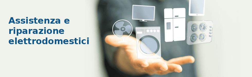 elettrodomestici, mano, offerta, vendita