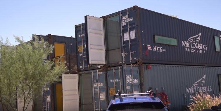 Cargo Container Phoenix Building Permit Information