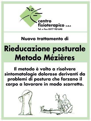 depliant rieducazione posturale