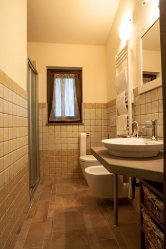 bagno camera girasole