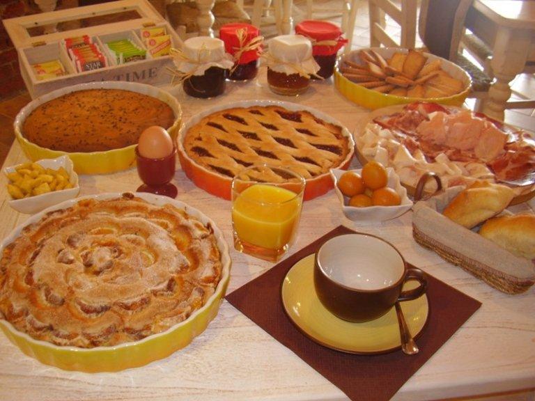 dolci buffet colazione