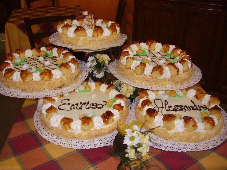 torta fatta in casa per cerimonie