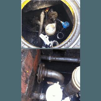 Controllo condotti carburante dogana di Castellamare di Stabia