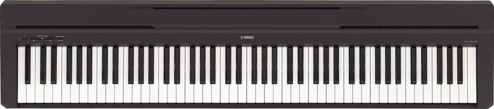 p45.yamaha Apprezza il tocco autentico del pianoforte ovunque ti trovi.  Questo piano digitale compatto e ricco di stile è semplice da usare.€ 429,00