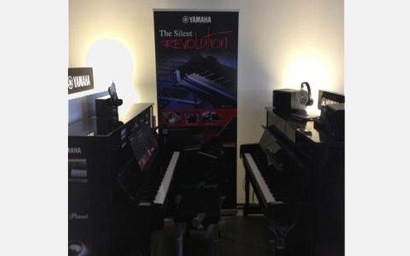 Area dedicata ai modelli Yamaha Silent di ultima generazione, SG2 e ultimissimi SH