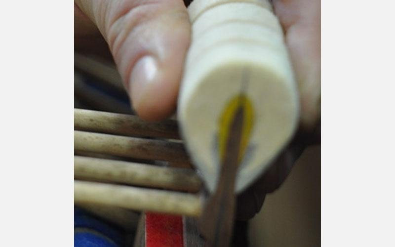 Momento di intonazione martelli pianoforte a coda