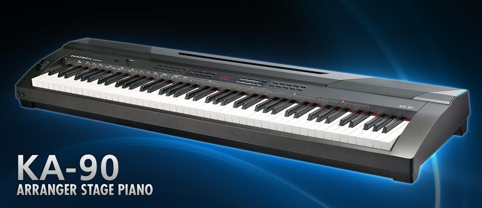 KA90 Tastiera Hammer Action 20 Inspiring Preset di fabbrica 50 stili di accompagnamento automatico Armadio moderno con sistema audio integrato MIDI canzone Recorder € 450,00
