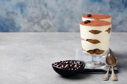 tiramisù in coppe