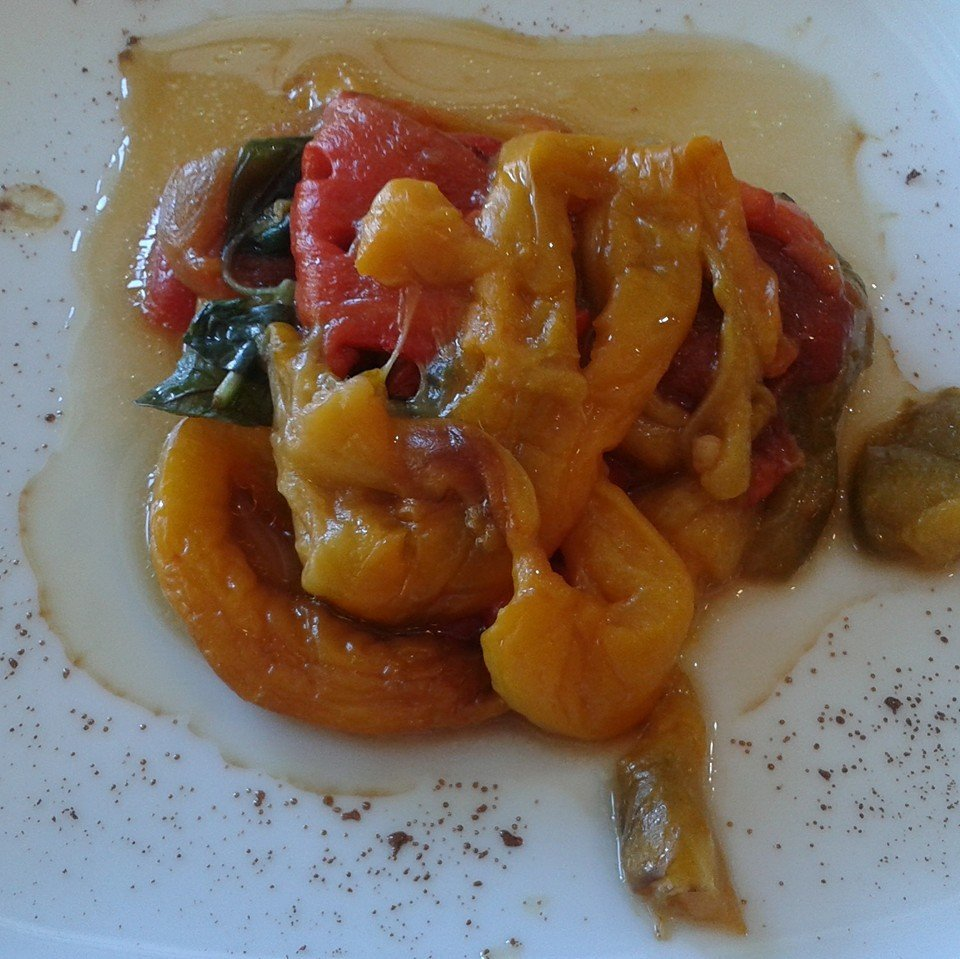 insalata con ravanelli cetrioli e ceci