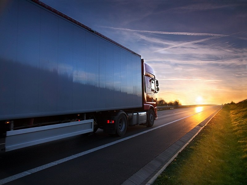 camion per spedizioni