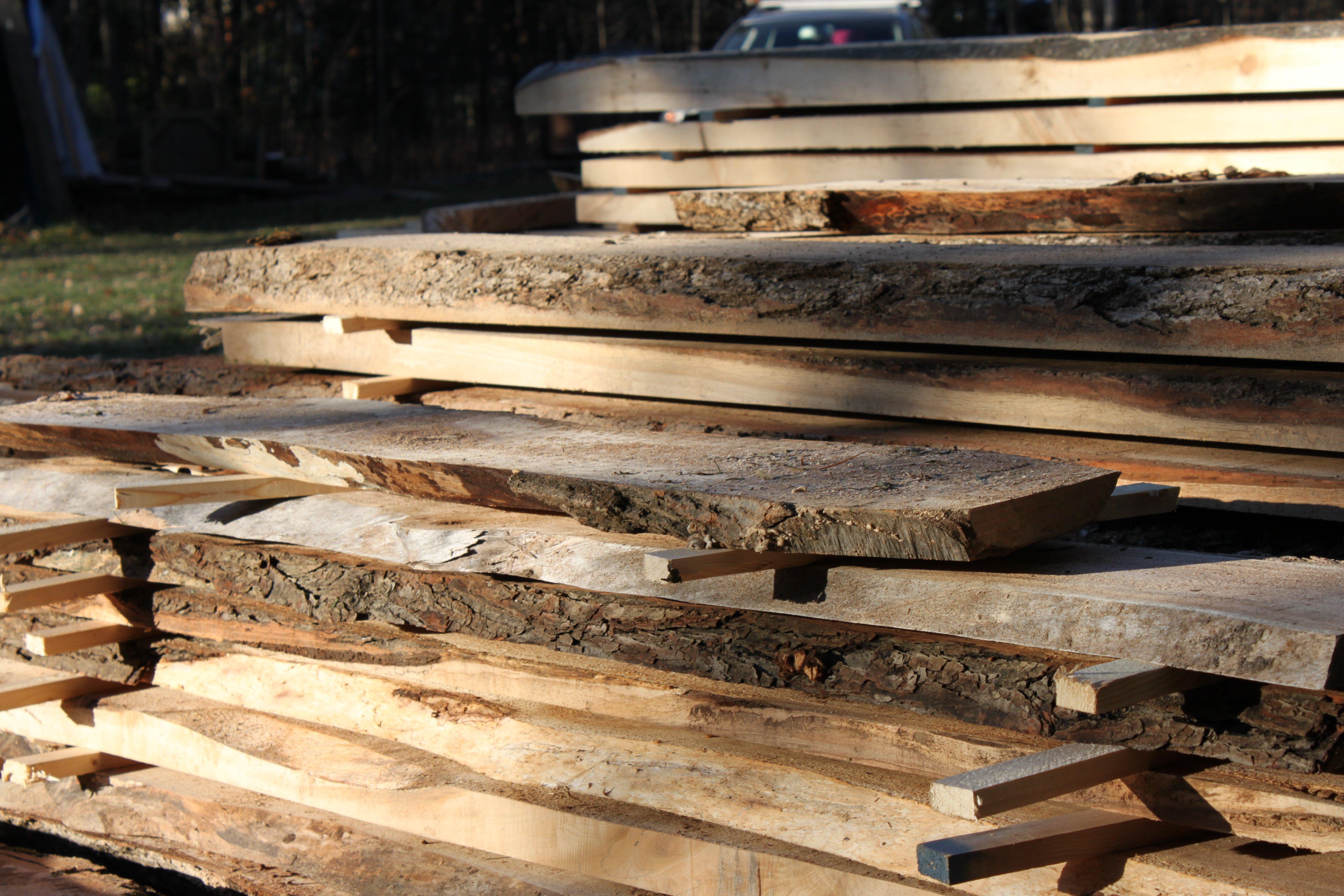 Lumber sawn from M285 sawmill