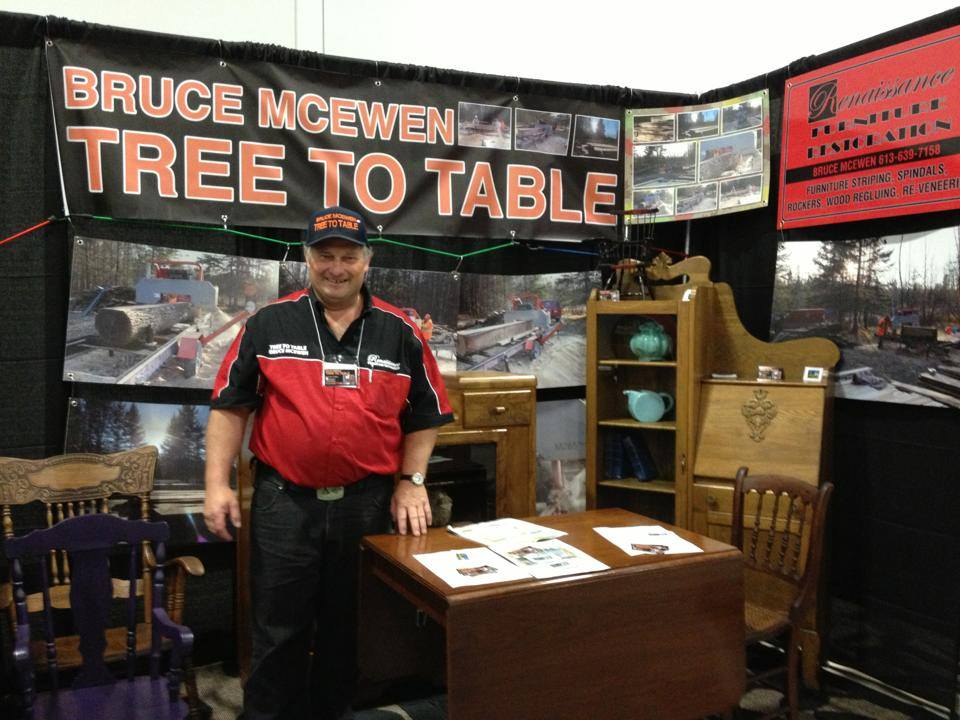 Bruce offers Furniture restoration services