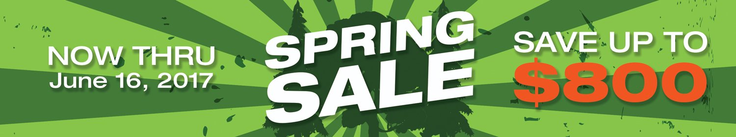 Spring Sale - Save up to $800