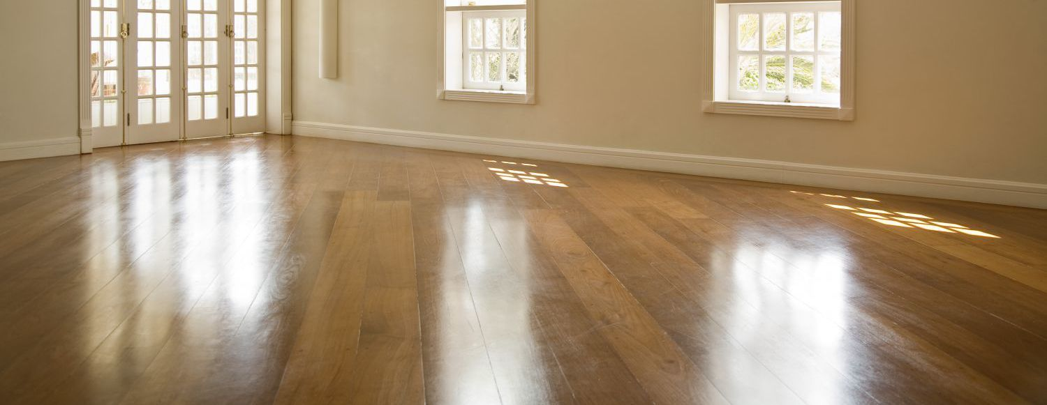 Beautiful shiny room thanks to floor sanding experts in Wellington