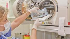 autoclave sterilizzante, strumentazione sterile, controllo batterico a infrarossi