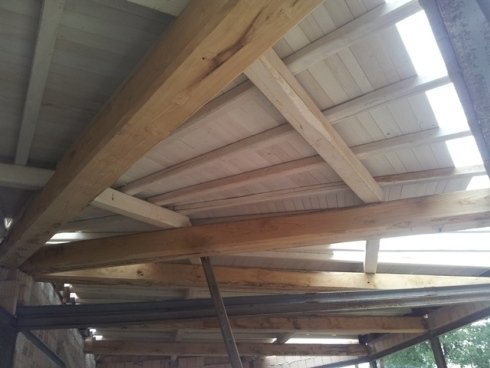 tetti in castagno