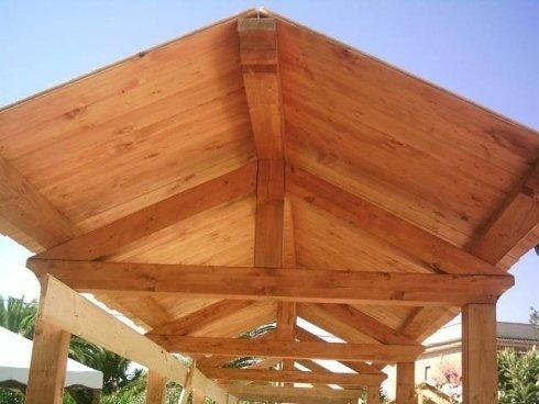 gazebi e verande in legno