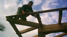 tettoie in legno di castagno