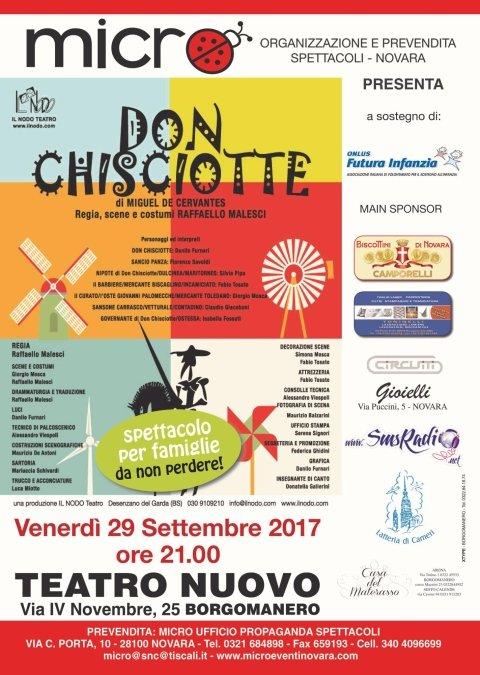 Don Chisciotte, spettacolo a Teatro, teatro per famiglie
