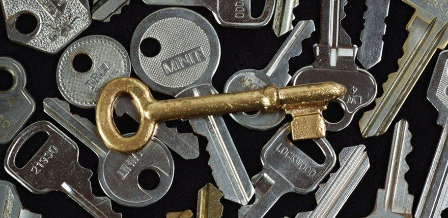 a variety of keys