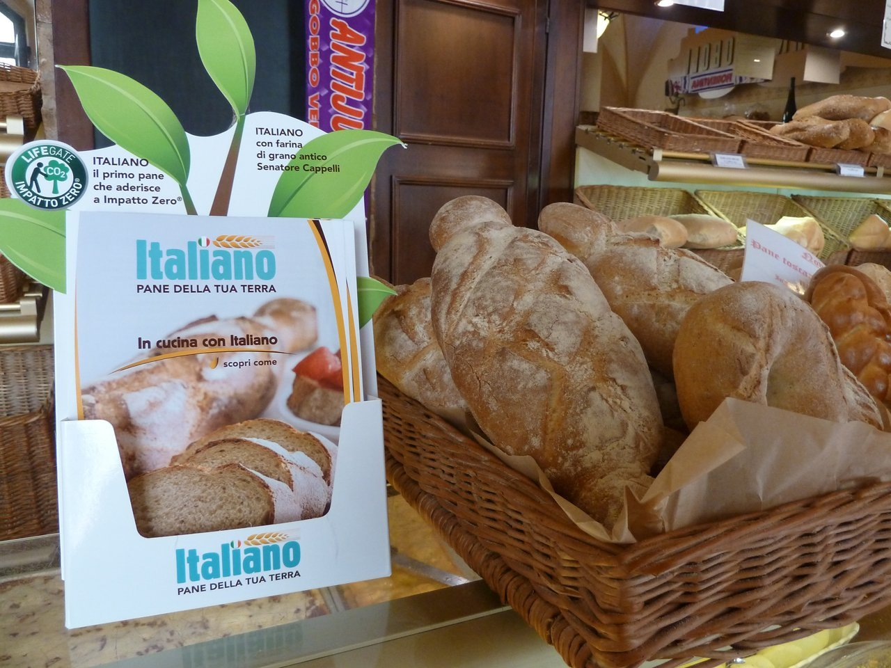 assortimento pane italiano