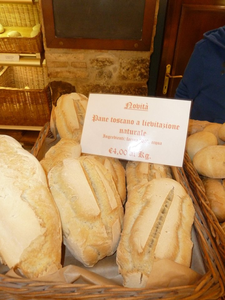 pane toscano a lievitazione naturale