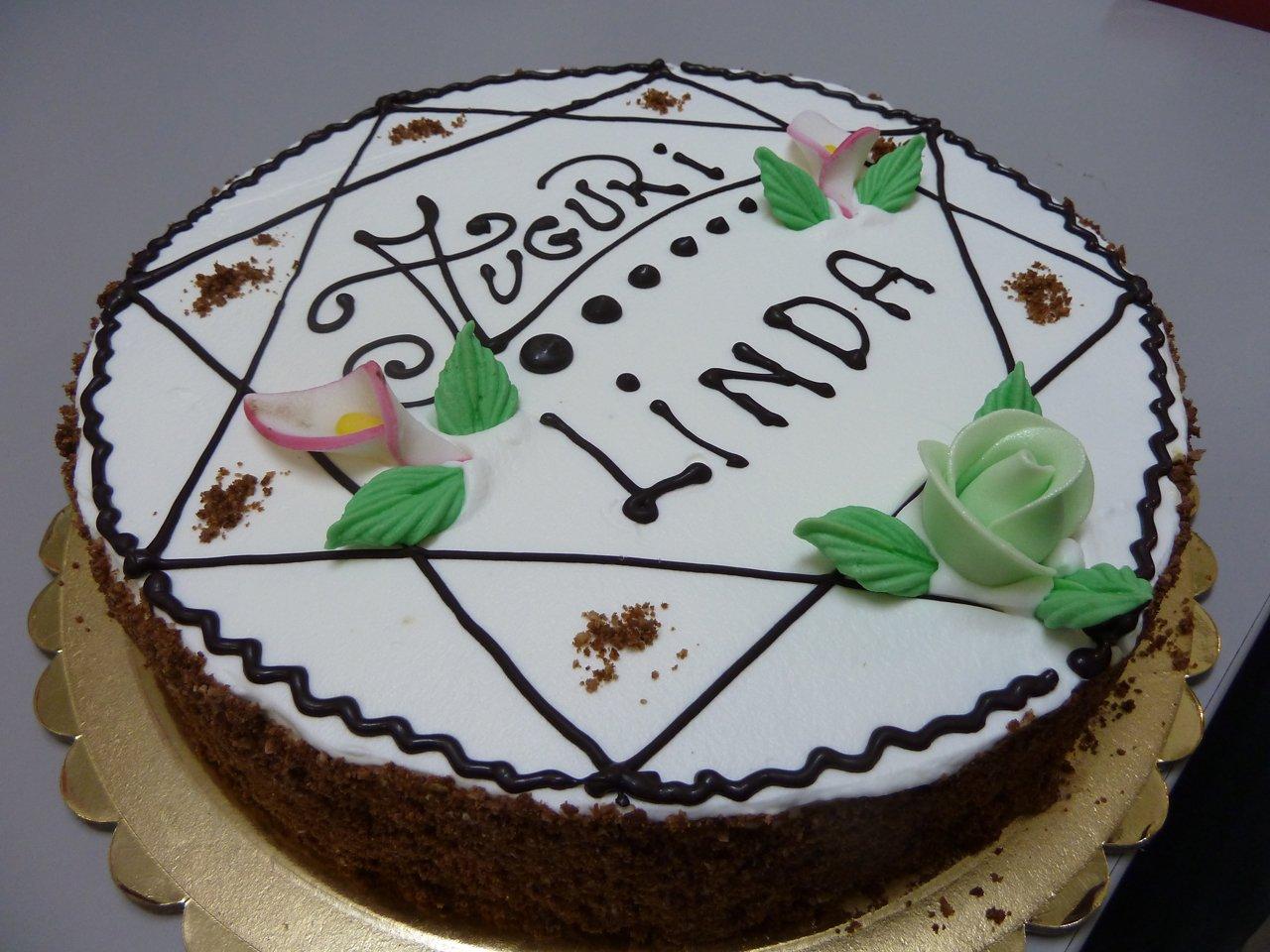 torta di compleanno Linda