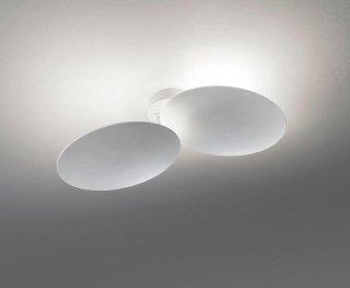 Plafoniere Con Lampadina A Vista : Lampade da soffitto cuneo arredaluce